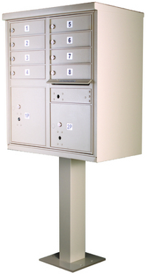Heavy Duty Series Cluster Mailboxes Secure Cluster