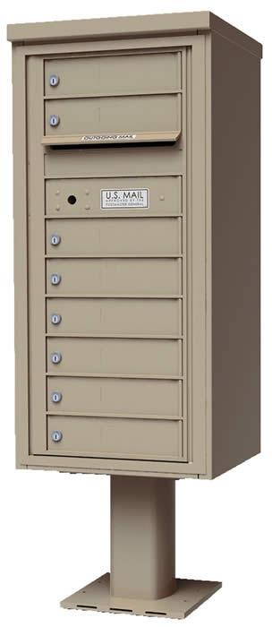 Wall Mount Group Mailboxes Amp Mailbox Units Horizontal